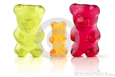 Jelly Bears Editorial Stock Photo