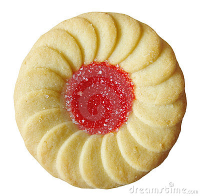 Free Jelly Filled Cookie Royalty Free Stock Image - 1218496