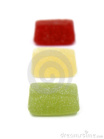 Jelly traffic light