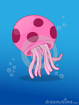 Jellyfish Vector Illustration