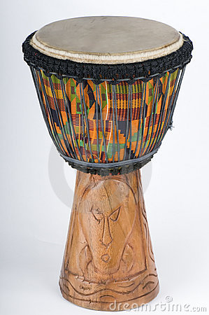 Jemba Drum hand carved