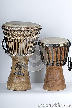 Free Jemba Drums Royalty Free Stock Photo - 5259255