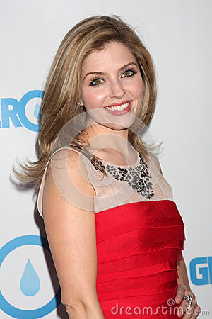 Jen Lilley arrives at the 4th Annual Night of Generosity Gala Event Editorial Stock Image