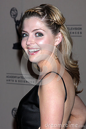 Jen Lilley arrives at the ATAS Daytime Emmy Awards Nominees Reception Editorial Stock Photo