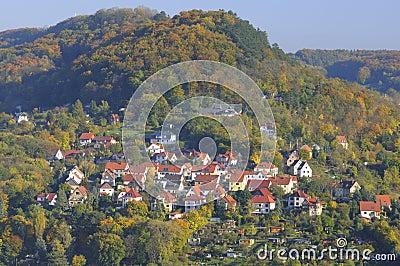 Jena town, Thuringia, Germany