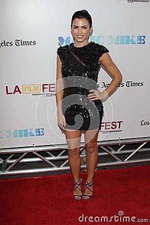 Jenna Dewan at the Los Angeles Film Festival Closing Night Gala Premiere Editorial Photo