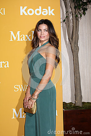 Jenna Dewan-Tatum arrives at the City of Hope s Music And Entertainment Industry Group Honors Bob Pittman Event Editorial Stock Photo