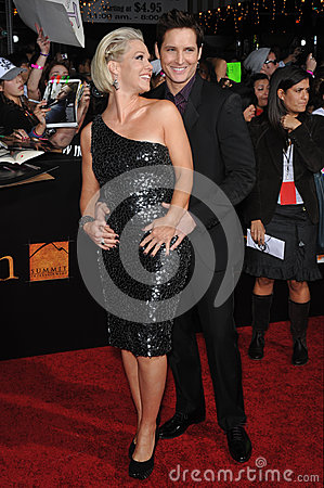Jennie Garth,Peter Facinelli Editorial Image
