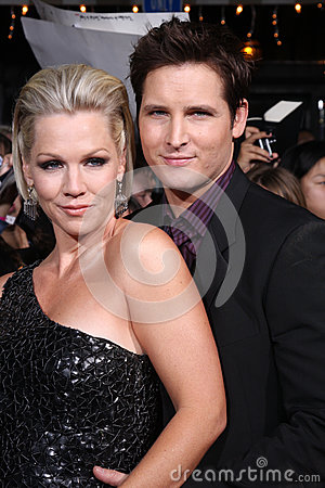 Jennie Garth,Peter Facinelli Editorial Stock Image