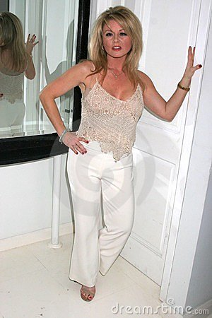 Jennifer Berne at the Mansion Party Hosted By British Talk Show Host Jacquie Blaze. Private Residence, Beverly Hills, CA. 12-07-07 Editorial Stock Photo