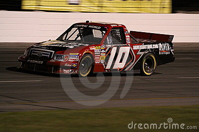 Jennifer Jo Cobb NASCAR Truck Series ORP Night T2 Editorial Stock Image