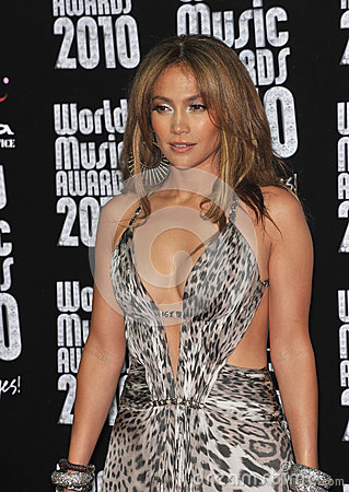 Jennifer Lopez Editorial Image