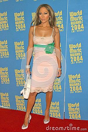 Jennifer Lopez Editorial Stock Image