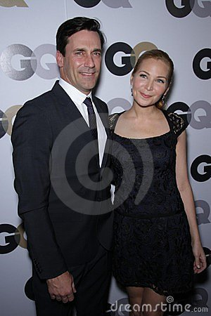 Jennifer Westfeldt, Jon Hamm Editorial Stock Photo