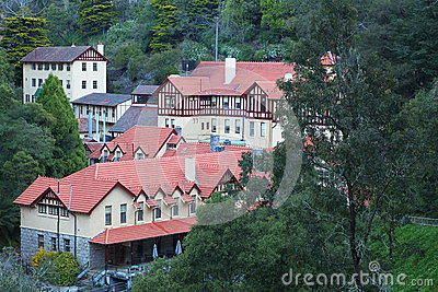 Jenolan Caves village