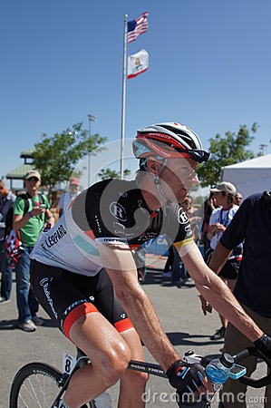 Jens Voigt 2012 Amgen Tour of California  Editorial Stock Photo