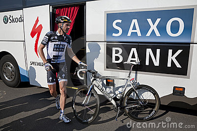 Jens Voigt Team Saxobank Editorial Image