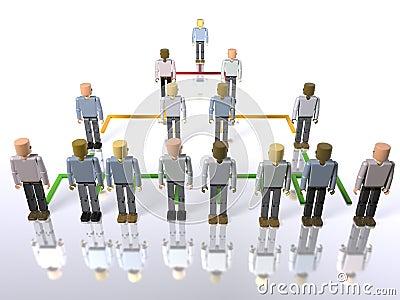 Jerarquía del asunto - de arriba a abajo