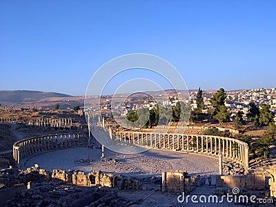 Jerash columns ii