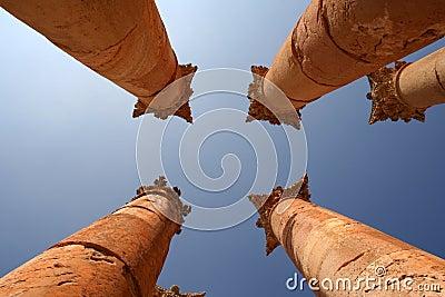 Jerash Colums