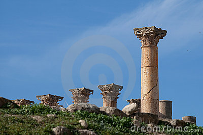 Jerash, Jordan, temple of artemis
