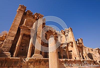 The Jerash Nymphaeum