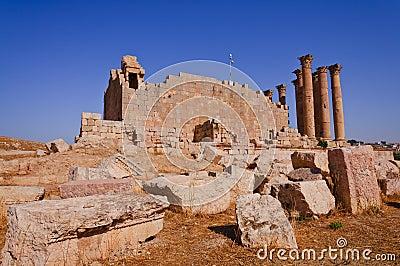 The Jerash Temple of Artemis