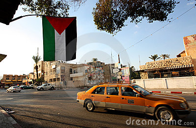 Jericho in West Bank, Palestine Editorial Stock Image