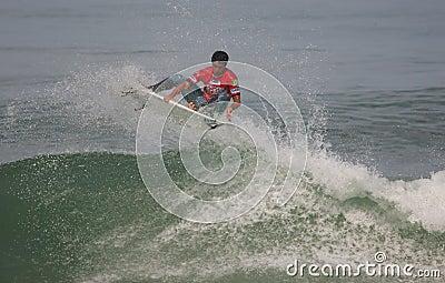Jeronimo Vargas (BRA) in ASP World Qualifier Editorial Photo