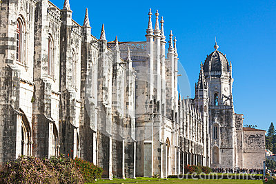 Jeronimos Monestary in Lisbon, Portugal