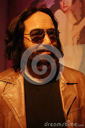 Jerry Garcia Wax Figure Editorial Photography