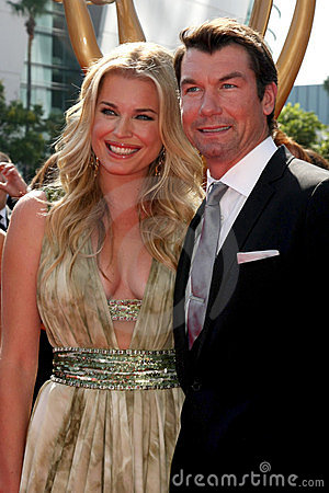 Jerry O Connell, Rebecca Romijn Editorial Photo
