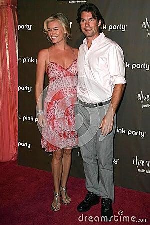 Jerry O'Connell, Rebecca Romijn Editorial Stock Photo