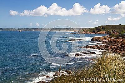 Jersey Coastline, Channel Island, UK