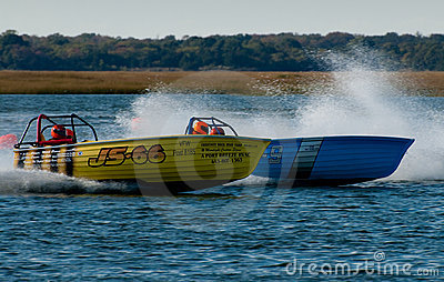 Jersey Speed Skiff Editorial Photo