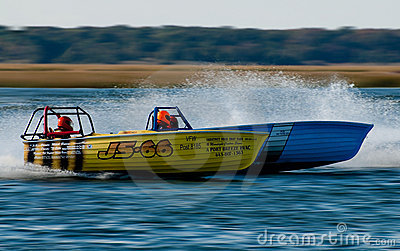 Jersey Speed Skiff Editorial Photography