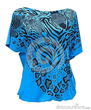 Jersey womans blouse