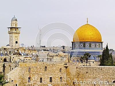 Jerusalem Editorial Stock Photo