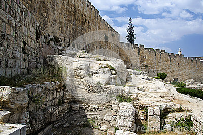 Jerusalem ancient walls