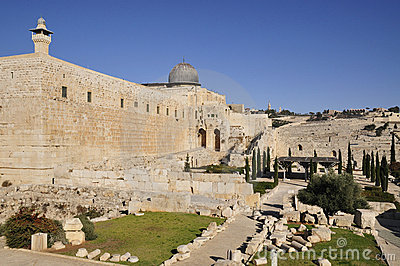 Jerusalem Archaeological Park Royalty Free Stock Image - Image: 17564296