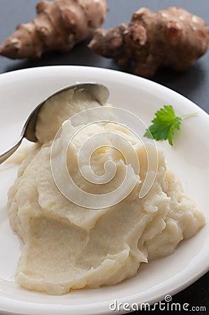 Jerusalem Artichoke Puree