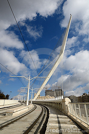 Jerusalem Chords Bridge Royalty Free Stock Photo - Image: 23617785