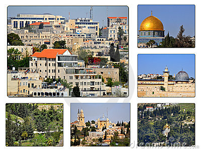Jerusalem Collage