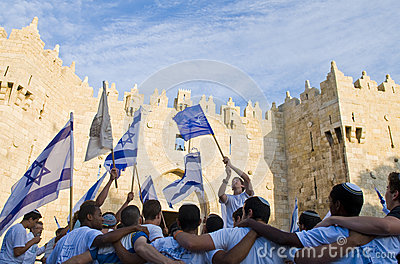 Jerusalem day Editorial Stock Photo