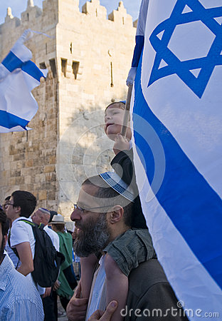 Jerusalem day Editorial Photography