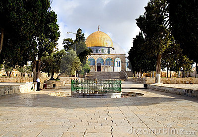 Jerusalem Golden Dome Mosque