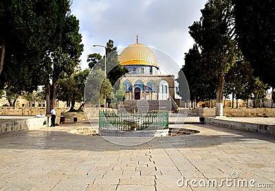 Jerusalem Golden Dome Mosque