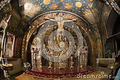 Jerusalem.Golgotha.Jesus on the Cross.