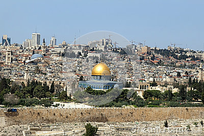 Jerusalem - the holy city for Muslims, for Christians, for Jews