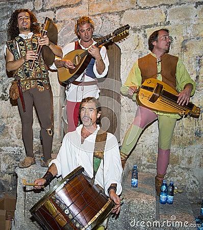 Jerusalem knight festival Editorial Photo